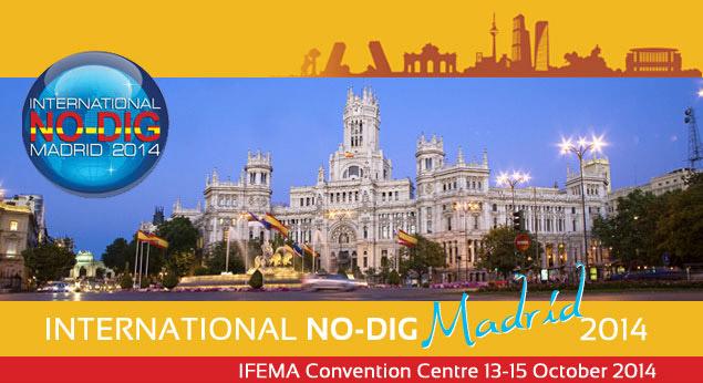 Encuentro anual internacional No-Dig del 13 al 15 de octubre de 2014 en Ifema