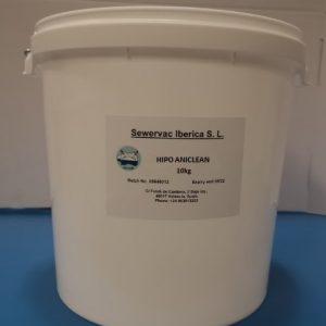 HIPO ANICLEAN para balsas de agua de consumo animal